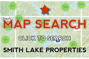 Search Smith Lake Properties For Sale by Map